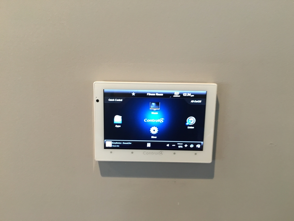 Commercial installation control4