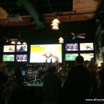 restaurant projector installations