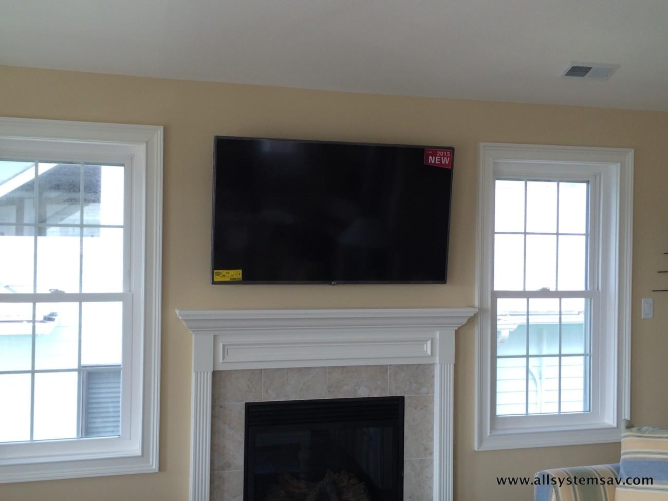 Flatscreen TV Installation