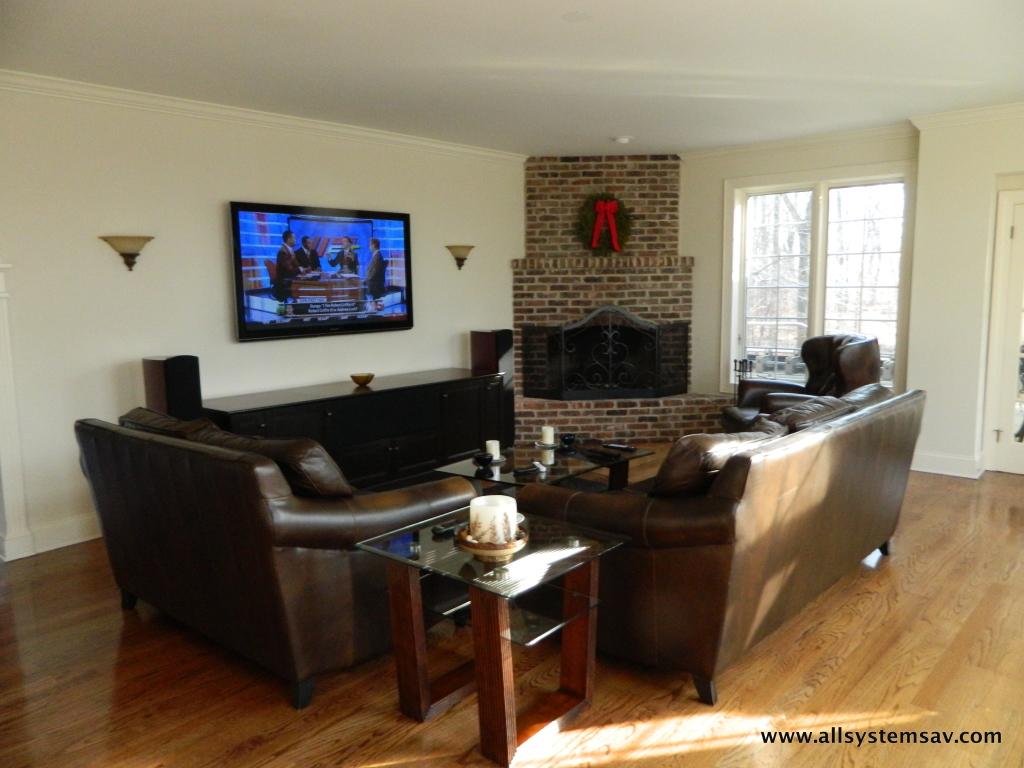 tv in family room