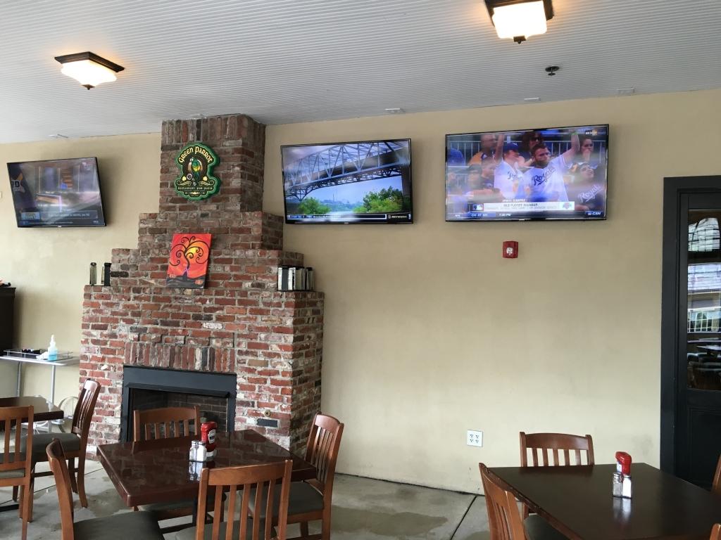 patio tv installation