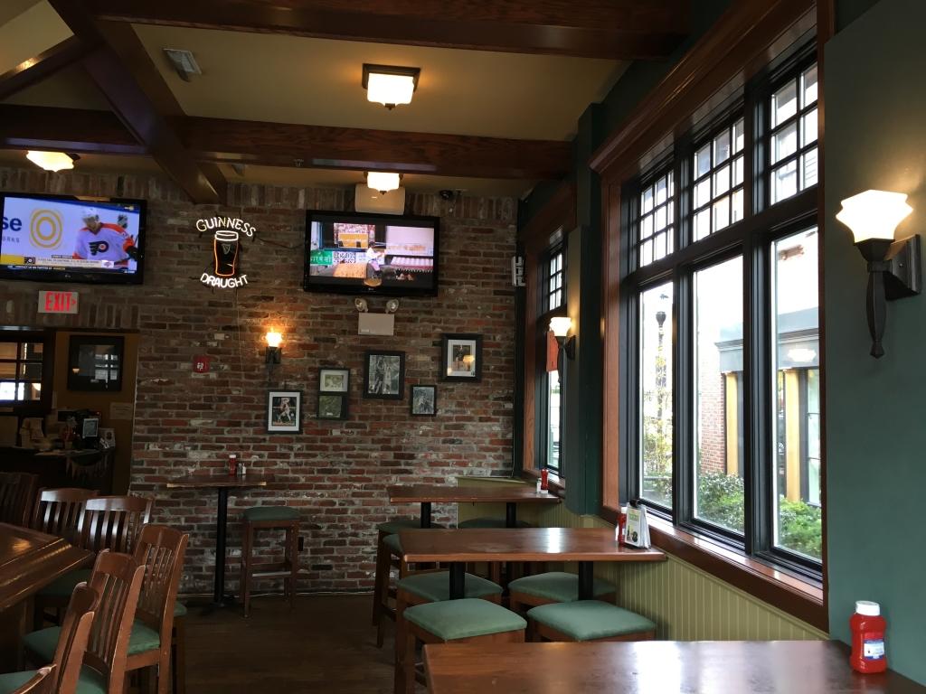 restaurant tv install