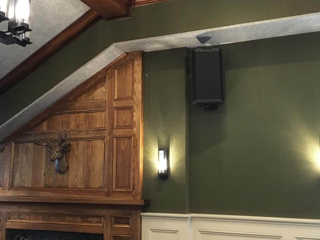 commercial speaker installs