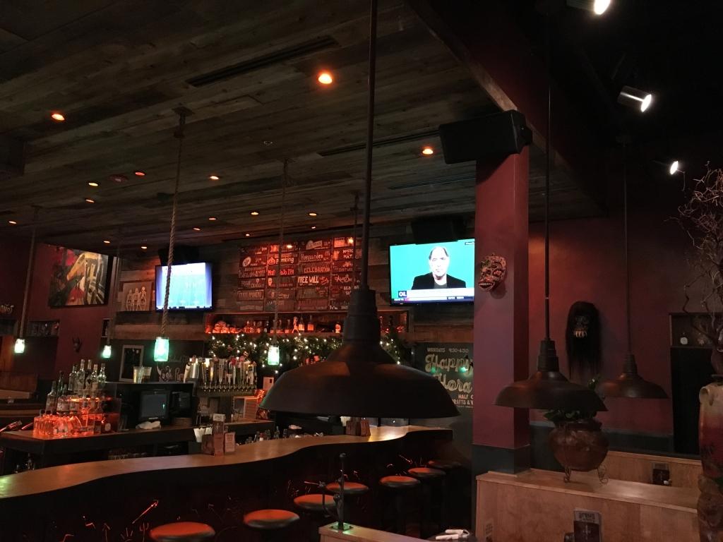 restaurant tv installation