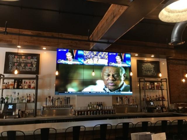 Bar Video Wall Installation Philadelphia