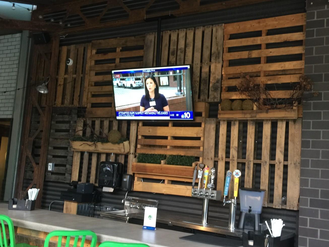 Commercial Bar TV Installation Philadelphia