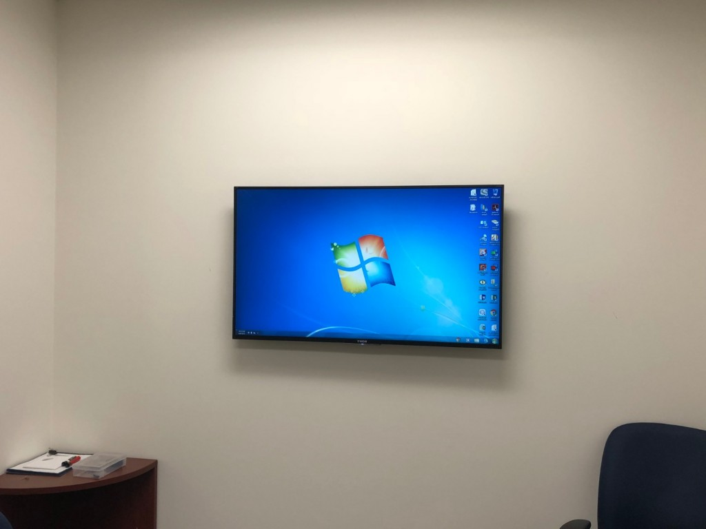 Commercial Flat Panel TV Installation King Of Prussia