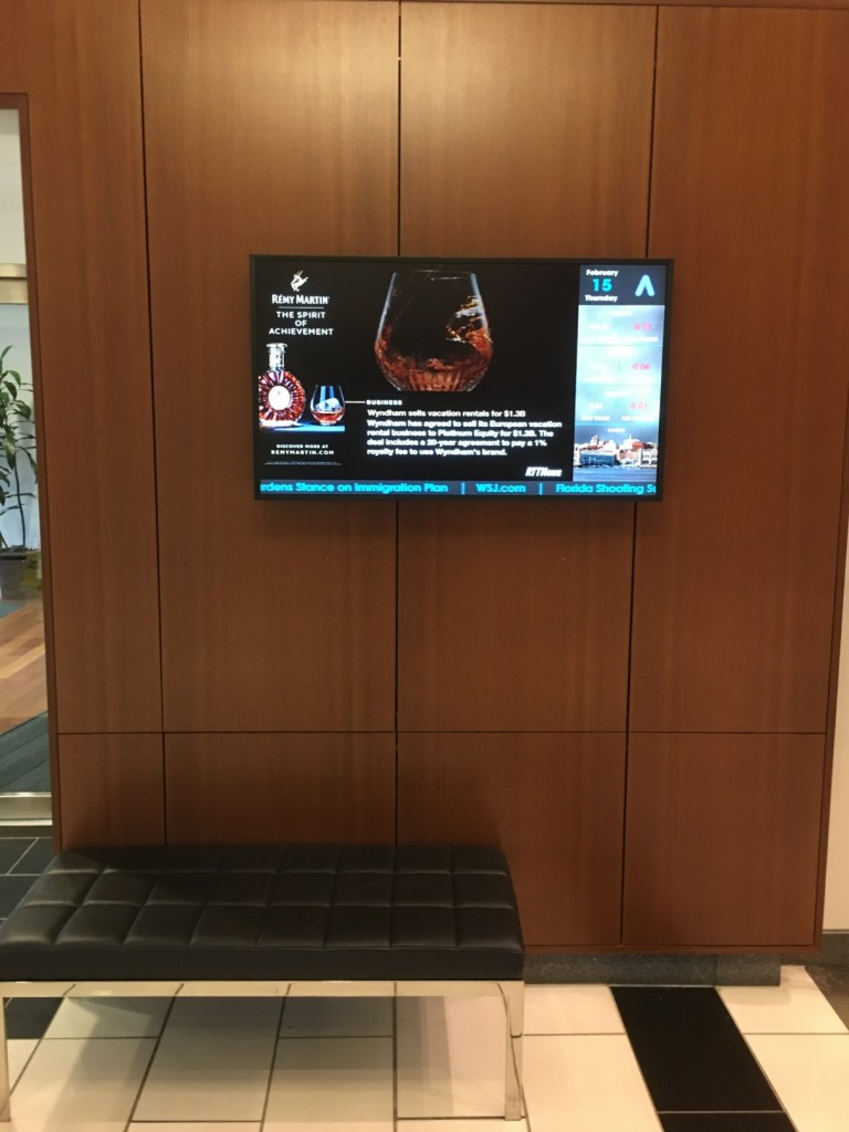 Commercial TV Installation University City