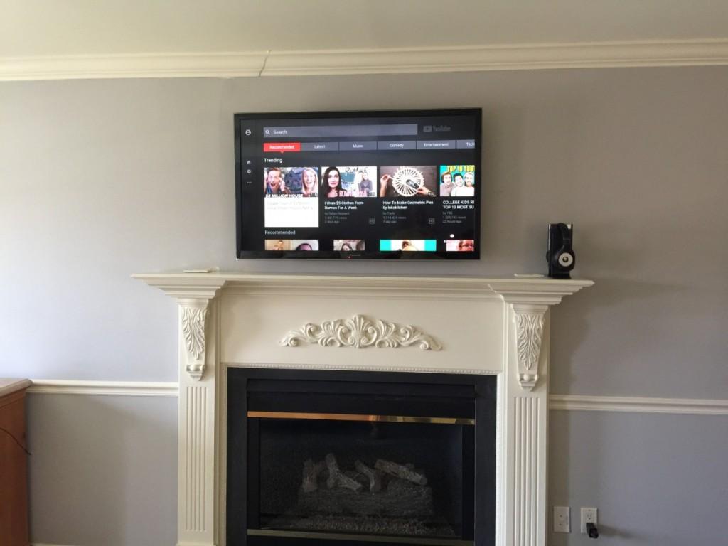 Fireplace TV Installation Holland