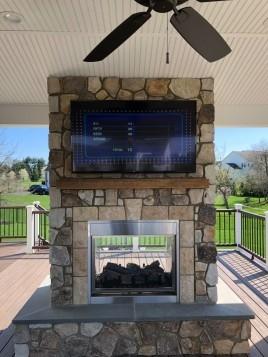 Outdoor TV Installation Newtown