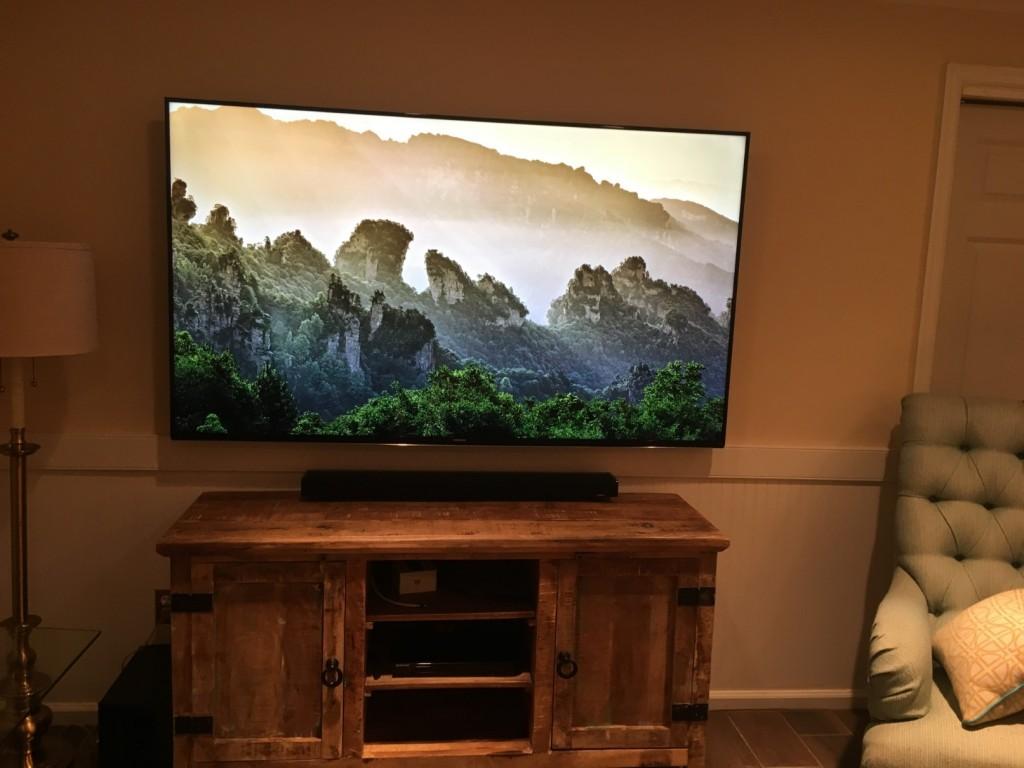 Ocean City TV Display Installation