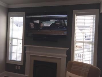 Residential Flat Panel TV Installation Furlong