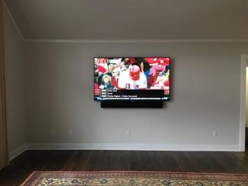 Residential Flat Panel TV Install Ambler