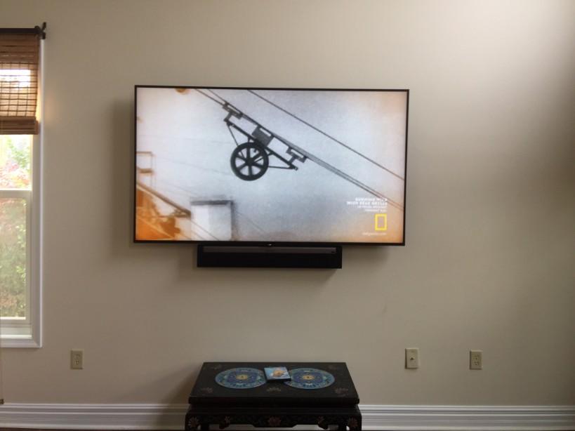 Residential Flat Panel TV Installation Lower Gwynedd