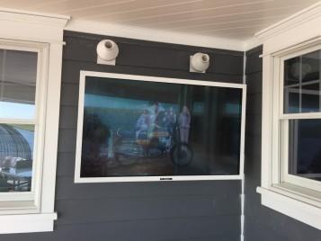 Residential Outdoor TV Installation Avalon